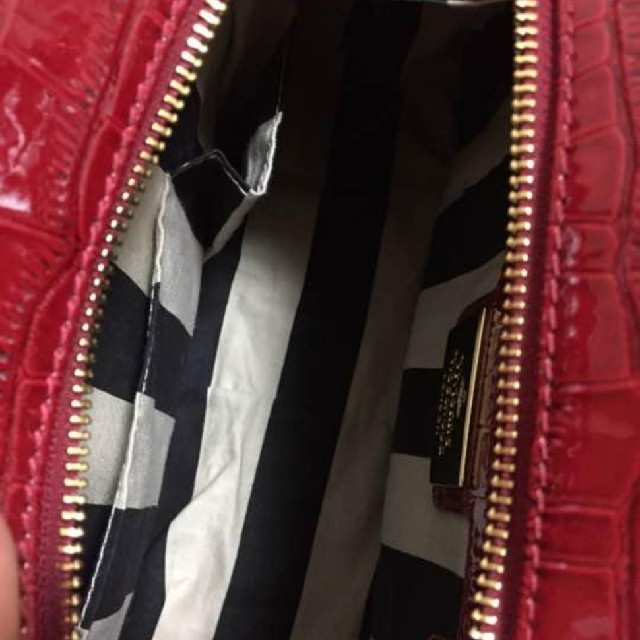Vivienne Westwood(ヴィヴィアンウエストウッド)のVivienne Westwood ハンドバッグ レッド ヴィヴィアン レディースのバッグ(ハンドバッグ)の商品写真