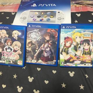 プレイステーションヴィータ(PlayStation Vita)のPS vita WiFiモデル (携帯用ゲーム機本体)