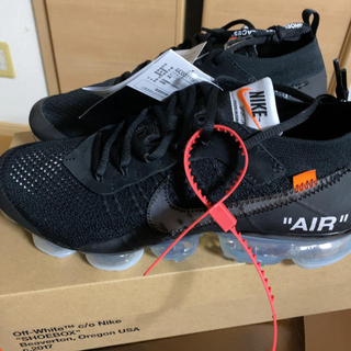 OFF-WHITE - NIKE OFF-WHITE VAPORMAX FK THE 10