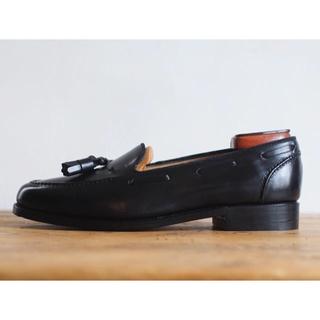 REGAL - 【美品】古靴 タッセルローファー 黒 日本製