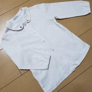 familiar - familiar 90 長袖 ブラウス