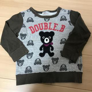 DOUBLE.B - 【90】ダブルビー  トップス
