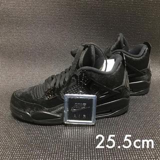 NIKE - 【新品、未使用、美品】ナイキ エアジョーダン4 レトロ 25.5cm