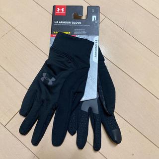 UNDER ARMOUR - 新品!アンダーアーマー  黒 手袋