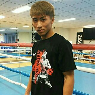 ミズノ(MIZUNO)の井上尚弥 WBSS 決勝限定記念Tシャツ(XLサイズ)(ボクシング)