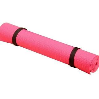 人気急上昇♡収納袋付 エクササイズ ヨガマット 持ち運び 軽量 ピンク