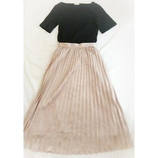 ジーユー(GU)の【ジーユー】プリーツロングスカート ♡ Sサイズ(ロングスカート)