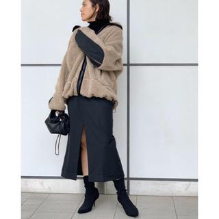 DEUXIEME CLASSE - AP studio yeti ベージュ 34 新品 ボアコート ジャケット