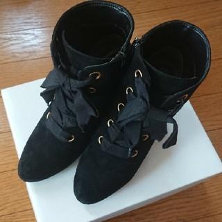 トランテアンソンドゥモード(31 Sons de mode)のトランテアン 編み上げショートブーツ(ブーツ)