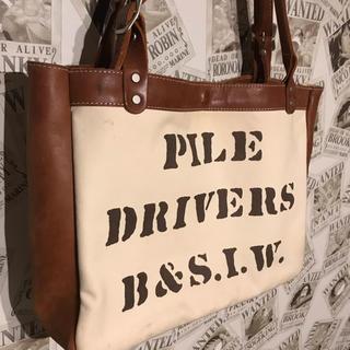 FREEWHEELERS - フリーホイーラーズ ツールキャリアー パイルドライバーズ トートバッグ