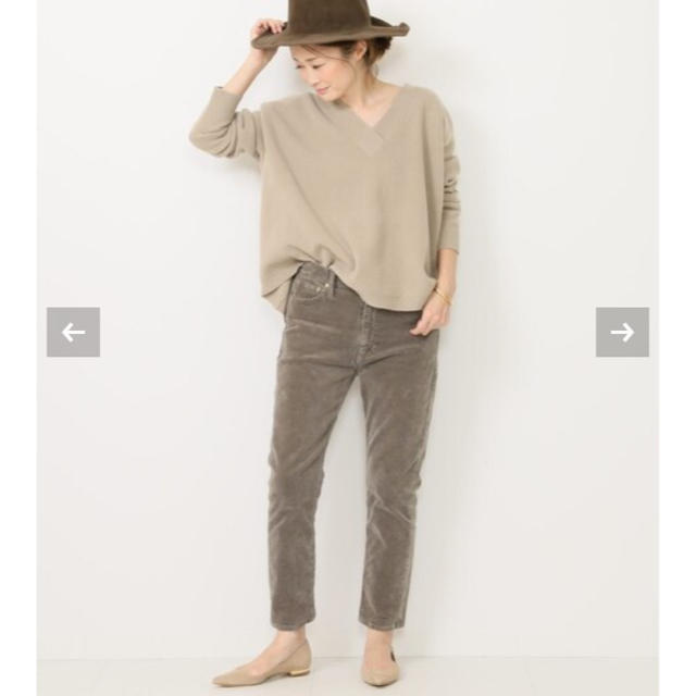DEUXIEME CLASSE(ドゥーズィエムクラス)の☆美品☆コーデュロイスリムパンツ レディースのパンツ(カジュアルパンツ)の商品写真