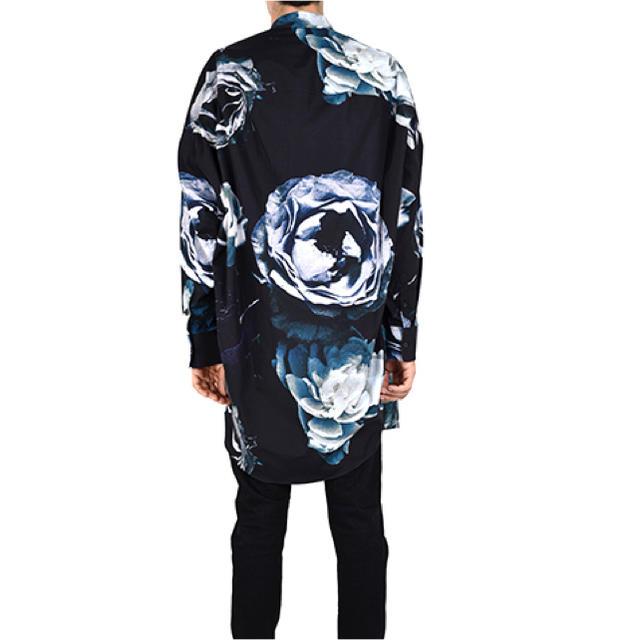 LAD MUSICIAN(ラッドミュージシャン)のlong shirt 花柄 17ss ビッグローズ メンズのトップス(シャツ)の商品写真