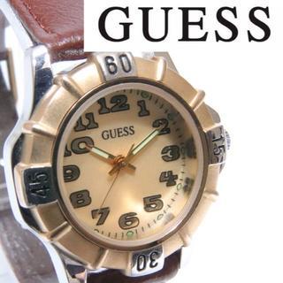 ゲス(GUESS)の★レア☆ビンテージ★1992年 ゲス  クオーツレディース腕時計 新品電池(腕時計)