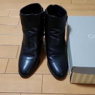 オペークドットクリップ(OPAQUE.CLIP)の☆値下げ☆黒ショートブーツ(ブーツ)