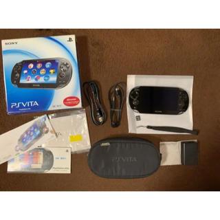 プレイステーションヴィータ(PlayStation Vita)のPlayStation®Vita +トラベルポーチセット(携帯用ゲーム機本体)