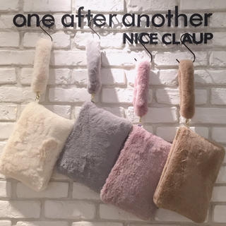 one after another NICE CLAUP - クラッチバッグ(ナイスクラップノベルティ)