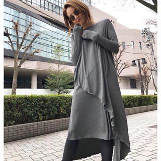 rienda - 期間限定出品‼️ミエリインヴァリアント カットドレープドレス