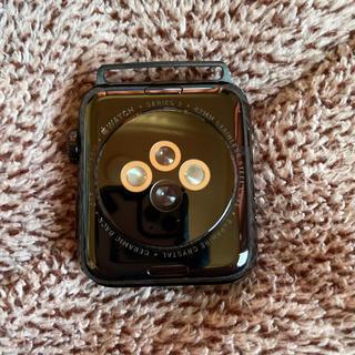 Apple Watch - アップルウォッチ シリーズ2 42mm ステンレス GPS 黒 WR-50M