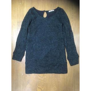 しまむら - 黒 ニット セーター