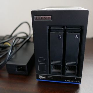 アイオーデータ(IODATA)のI-O DATA LAN DISK X HDL2-X2 2TB NAS(PC周辺機器)
