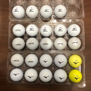ミズノ(MIZUNO)のミズノ ロストボール 24球 JPX、mp、他(その他)