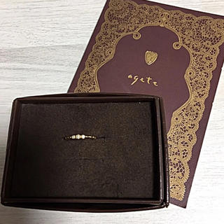 ♡agete♡ ダイヤモンドリング(リング(指輪))
