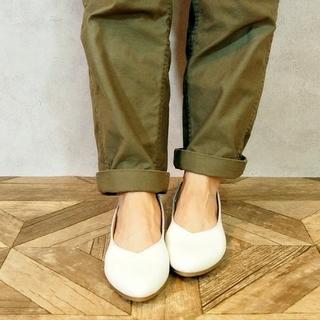アシナガオジサン(あしながおじさん)の一回着 ENあしながおじさん 人気 パンプス 22.5(バレエシューズ)