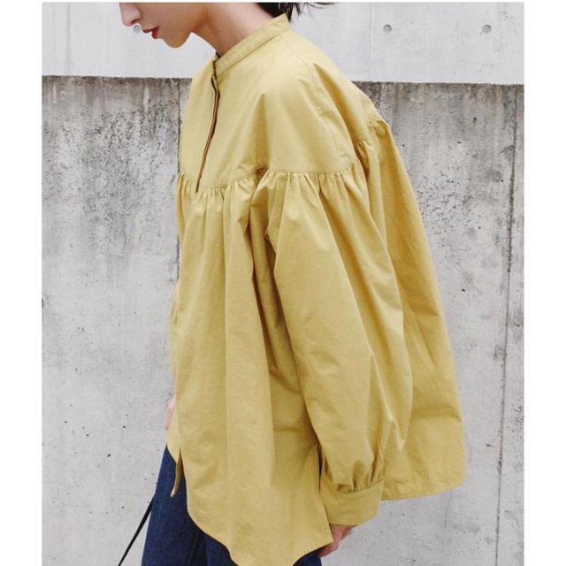 スタイルミキサーギャザー切り替えブラウスclaneクラネ好きにも レディースのトップス(シャツ/ブラウス(長袖/七分))の商品写真