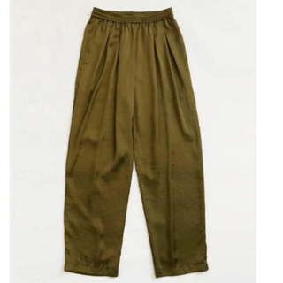 TODAYFUL - 新品タグ付きTODAYFUL Silkete Rough Pantsサテンパンツ