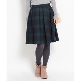 クチュールブローチ(Couture Brooch)のクチュールブローチ マルチカラーブロックチェックスカート 38サイズ(ひざ丈スカート)