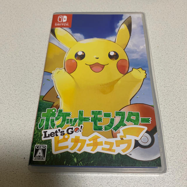 Nintendo Switch(ニンテンドースイッチ)のポケットモンスター Let's Go! ピカチュウ Switch エンタメ/ホビーのゲームソフト/ゲーム機本体(家庭用ゲームソフト)の商品写真