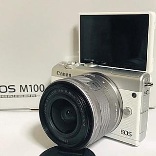Canon - ❤️新品❤️キャノン  EOS M100 レンズキット ホワイト