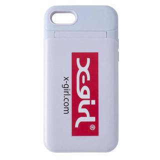 エックスガール(X-girl)の新品♡エックスガール iPhoneケース モバイルケース スマホケース ミラー付(iPhoneケース)