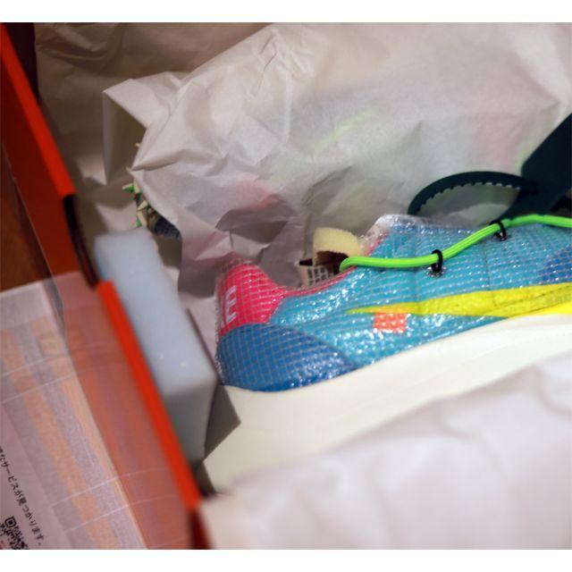 24.5cm ナイキ オフホワイト ヴェイパーストリート メンズの靴/シューズ(スニーカー)の商品写真