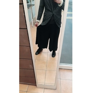 ヨウジヤマモト(Yohji Yamamoto)のCOMME des GARCONS ウールワイドパンツ(スラックス)