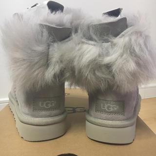 アグ(UGG)のUGG アグ  フラッフボウミニ リボン ブーツ (ブーツ)