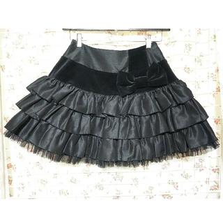 アンジェリックプリティー(Angelic Pretty)のアンジェリックプリティ スカート 3段フリル(ミニスカート)