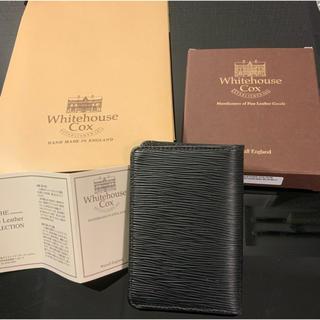 ホワイトハウスコックス(WHITEHOUSE COX)のホワイトハウスコックス 名刺入れ カードケース 新品(名刺入れ/定期入れ)