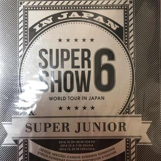 スーパージュニア(SUPER JUNIOR)のスーパージュニア  super show6(ミュージック)