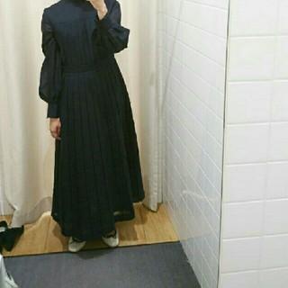 ENFOLD - 明日まで値下げ Enfold ビエラプリーツドレス ワンピース
