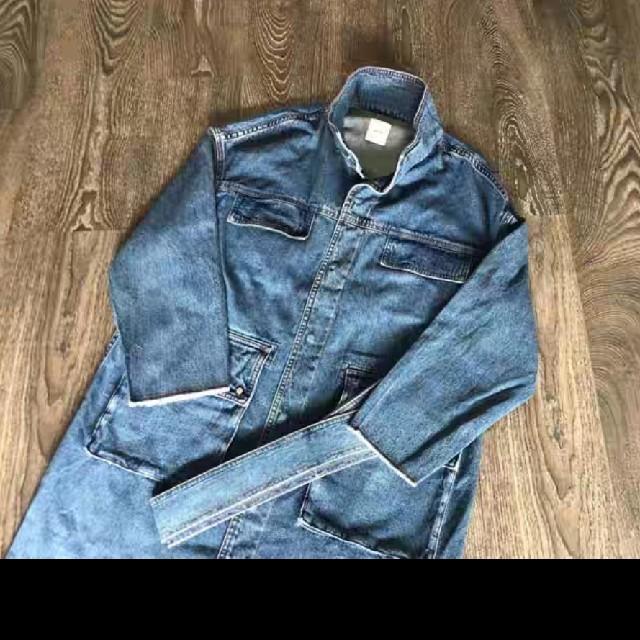 Ameri VINTAGE(アメリヴィンテージ)のAmeri Vintage DENIM WORK LONG COAT 未使用 レディースのジャケット/アウター(ロングコート)の商品写真