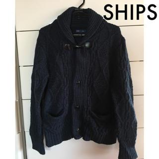 SHIPS - SHIPS シップス ships カーディガン ニット セーター コート