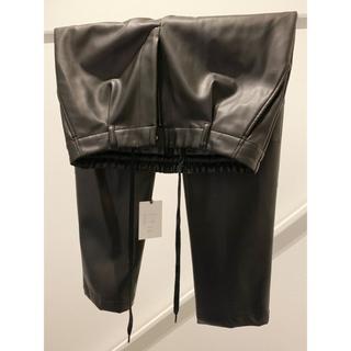 SUNSEA - 新品未使用/2019AW stein FAKE LEATHER TROUSERS