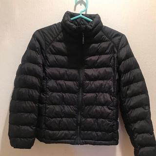 UNIQLO - ダウンジャケット  ユニクロ 黒色 140サイズ