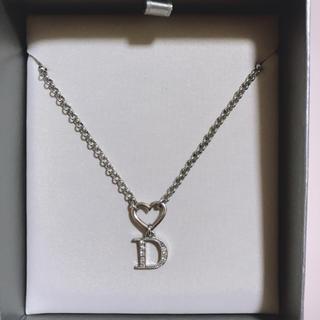 Christian Dior - クリスチャンディオール ハート ネックレス