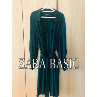 ザラ(ZARA)の【ZARA BASIC】 襟つきシャツカーディガン(シャツ/ブラウス(長袖/七分))
