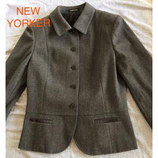NEWYORKER - 【New Yorker】ニューヨーカー ウールのスーツ