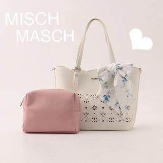 MISCH MASCH - 極美品 MISCH MASCH♡スカラカットレースレディトートバッグ