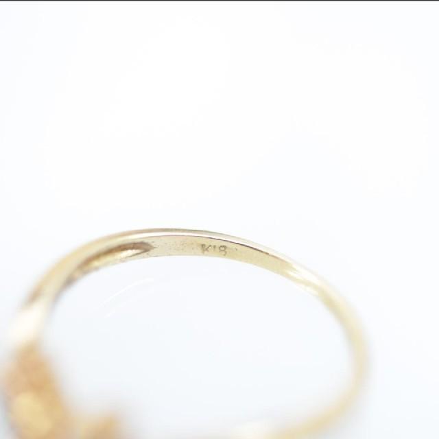 トクトク 18金 ダイヤモンド リング メンズのアクセサリー(リング(指輪))の商品写真