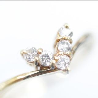 トクトク 18金 ダイヤモンド リング